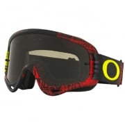 Oakley O Frame Goggles - Distress Tagline Red Yellow