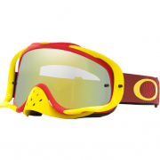 Oakley Crowbar Goggles - Shockwave Red Yellow 24K Iridium