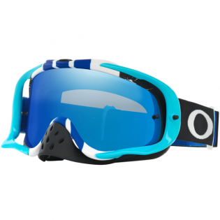 Oakley Crowbar Goggles - Pinned Race Blue White Iridium