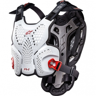 Alpinestars A1 Chest Protector - White