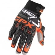 Leatt GPX 5.5 Windblock Gloves - Black Orange