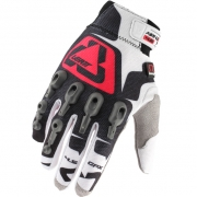 Leatt GPX 4.5 Lite Gloves - White Red Black