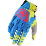Leatt GPX 4.5 Lite Gloves - Blue Yellow Red