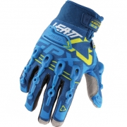 Leatt GPX 5.5 Windblock Gloves - Blue Yellow White