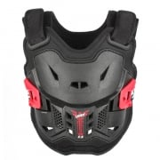 Leatt 2.5 Kids Chest Protector - Black Red