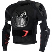 Alpinestars Bionic Tech BNS Protection Jacket - Black White Red