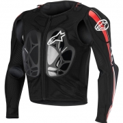 Alpinestars Bionic Pro BNS Protection Jacket - Black White Red