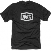 100% Essential T Shirt - Black