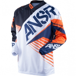 2016 Answer Syncron Jersey - White Black Orange