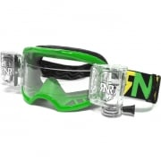 Rip n Roll Colossus WVS Roll Off Goggles - Green