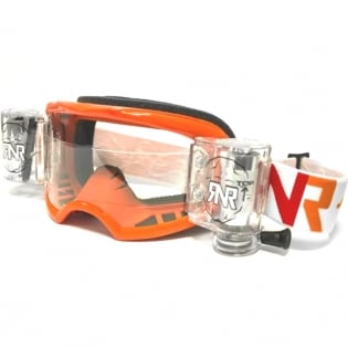 Rip n Roll Colossus WVS Roll Off Goggles - Orange