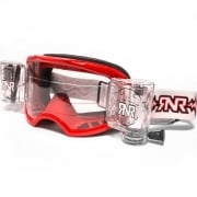 Rip n Roll Colossus WVS Roll Off Goggles - Red