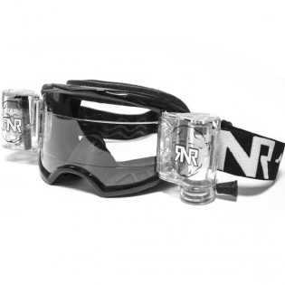 Rip n Roll Colossus WVS Roll Off Goggles - Black