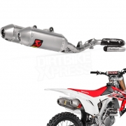 Akrapovic Stainless Exhaust System - Honda CRF 250 2016-Current