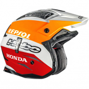 Hebo Zone 4 Fibre Trials Helmet - Team Repsol Montesa