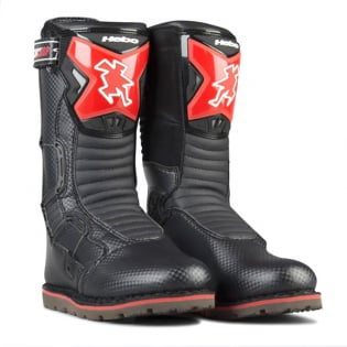 Hebo Tech Comp Black Trials Boots