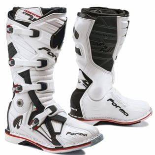 Forma Dominator Comp 2.0 Motocross Boots - White