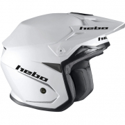 Hebo Zone 5 Polycarb Trials Helmet - Mono White