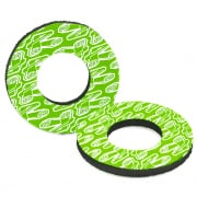 Renthal Grip Donuts - White Green