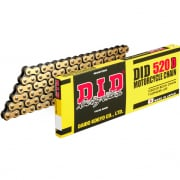 DID D Series Standard Chain - Gold Black