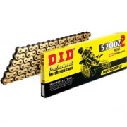DID DZ Series Heavy Duty Chain - Gold Black