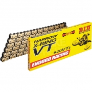 DID VT2 Series Heavy Duty Narrow X Ring Chain - Gold
