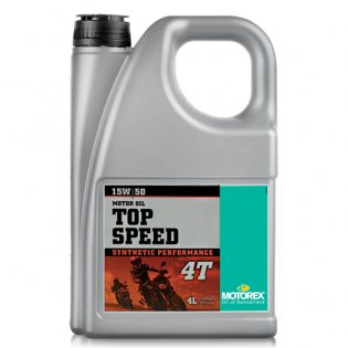 Motorex Top Speed 4T Synthetic Oil - 4 Litre