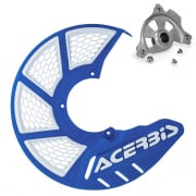 Acerbis X-Brake Front Vented Disc Protector Blue - Including Mount