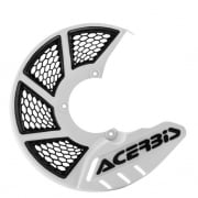Acerbis X-Brake Front Vented Disc Protector White - Cover Only
