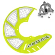 Acerbis X-Brake Front Vented Disc Protector Fluo Yellow - Incl Mount