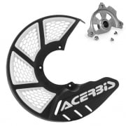 Acerbis X-Brake Front Vented Disc Protector Black - Including Mount