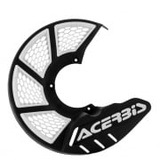 Acerbis X-Brake Front Vented Disc Protector Black - Cover Only