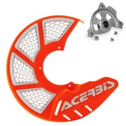 Acerbis X-Brake Front Vented Disc Protector Orange - Including Mount