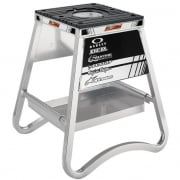 CiSport Alloy ID Box Bike Stand with Tray - Silver