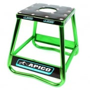 Apico Static Box Alloy Bike Stand - Green