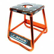 Apico Static Box Alloy Bike Stand - Orange