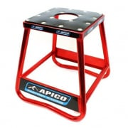 Apico Static Box Alloy Bike Stand - Red