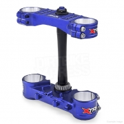 XTrig Triple Clamp Set Kawasaki - Blue Limited Edition