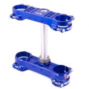 XTrig ROCS Tech Triple Clamp Set Husqvarna - Blue