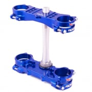 XTrig ROCS Tech Triple Clamp Set Yamaha - Blue