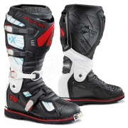 Forma Terrain TX 2.0 Motocross Boots - Black White Red