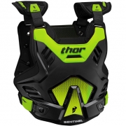 Thor Sentinel GP Body Armour - Black Green