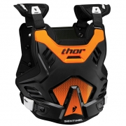 Thor Kids Sentinel GP Body Armour - Black Orange