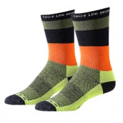 Troy Lee Designs Performance Crew Socks - Horizon Army Green