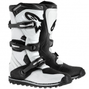 Alpinestars Tech-T Trials Boots - White Black
