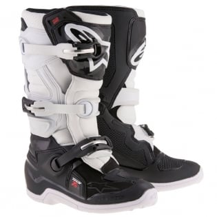 Alpinestars Kids Boots Tech 7S - Black White