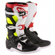 Alpinestars Kids Boots Tech 7S - Black Red Flo Yellow