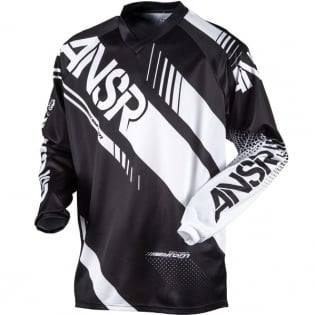 2017 Answer Syncron Jersey - Black White