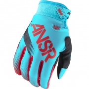 2017 Answer Syncron Kids Gloves - Red Teal
