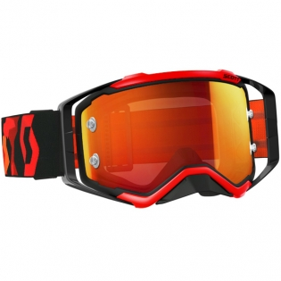 2017 Scott Prospect Goggles - Black Flo Red Orange Chrome